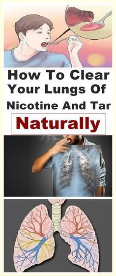 How To Clear Your Lungs Of Nicotine And Tar- Naturally#clear#lungs#nicotine#natural