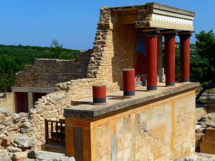 Knossos - La civilisation Minoenne