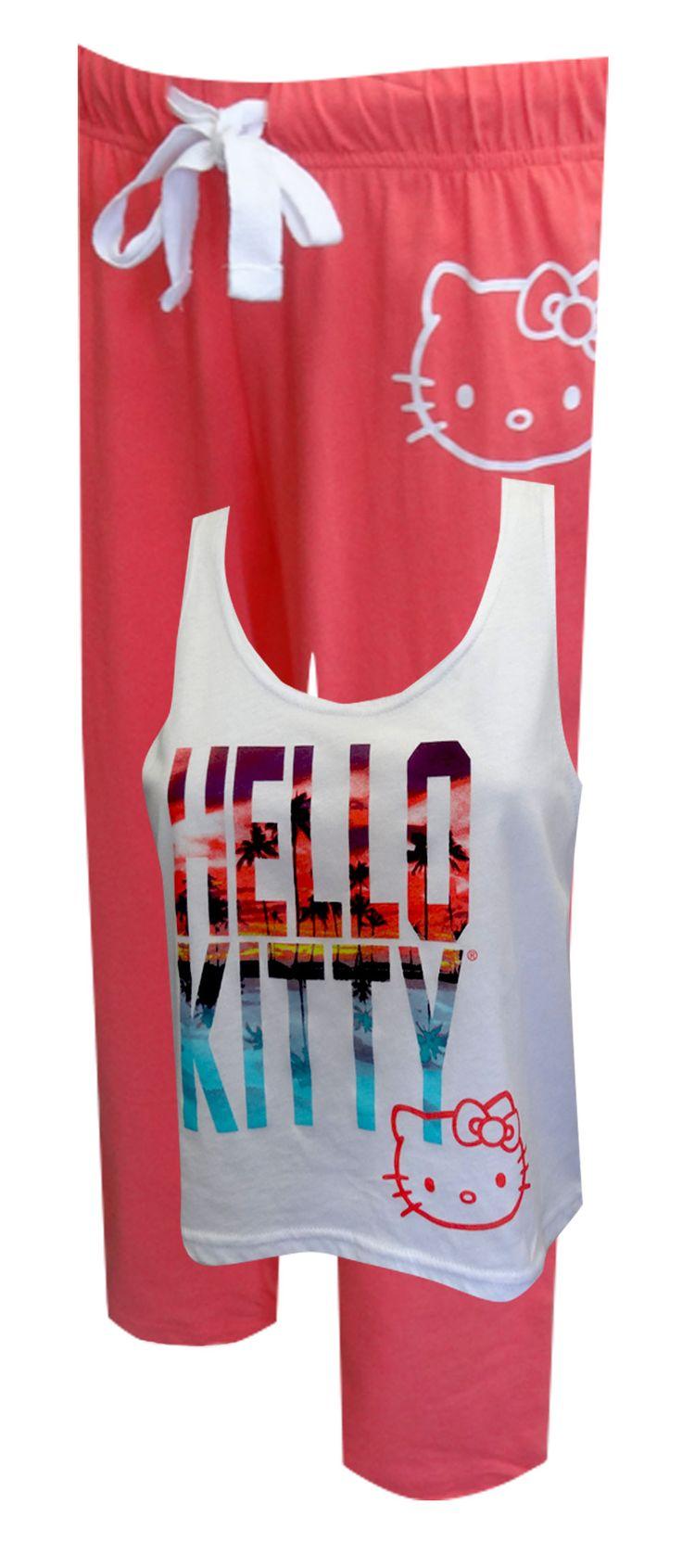 Design your own hello kitty t-shirt - Hello Kitty Caribbean Sunset Pajamas
