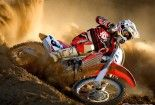 Honda Dirt Bike HD Wallpaper