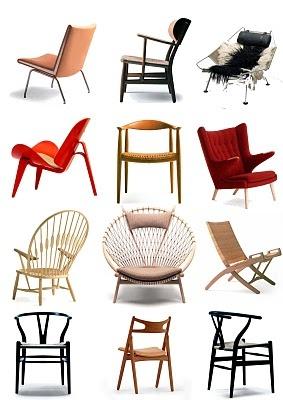 Chapter 27scandinavian modern - Hans Wegner chairs