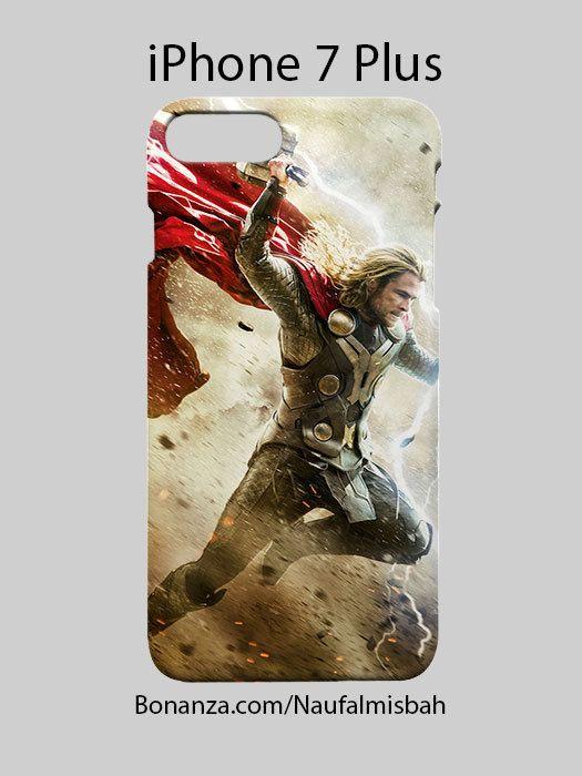 Thor Lighting Avengers iPhone 7 PLUS Case Cover Wrap Around
