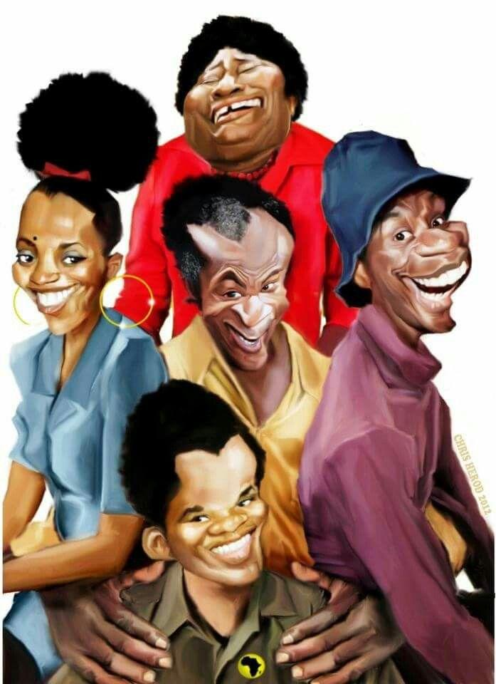 Jj good times afro