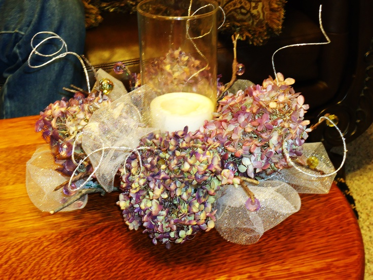 Hydrangea Wreath Centerpiece : Best homemade centerpieces ideas on pinterest how to