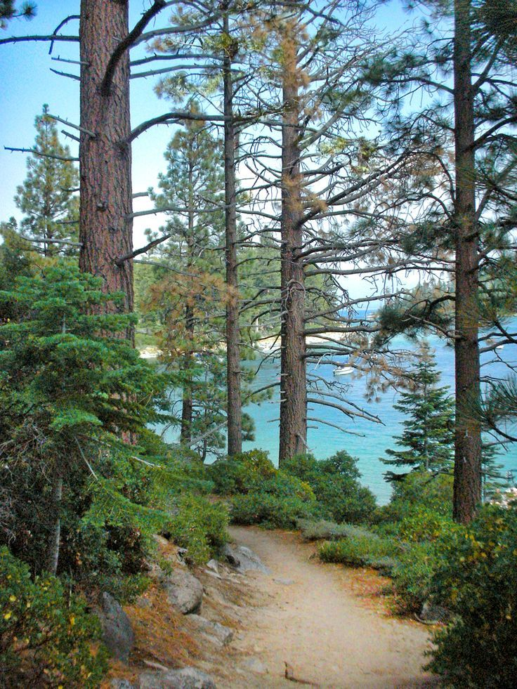 Emerald Bay on the Rubicon Trail, S Lake Tahoe