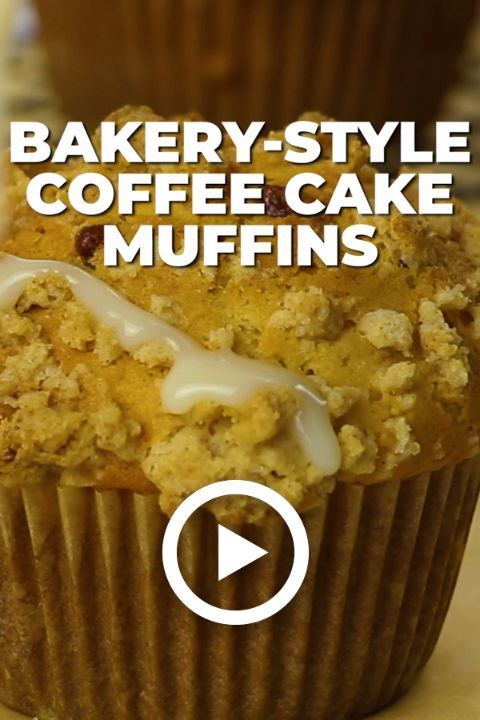 Bakery Style Coffee Cake Muffins Recipe Muffins Scones And