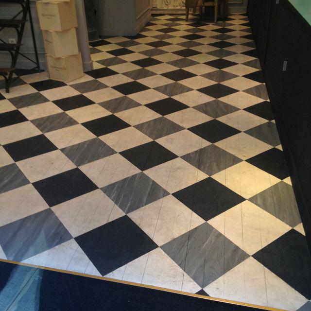 Parisian painted floor