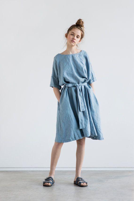 Leinen Sommerkleid von notPERFECTLINEN