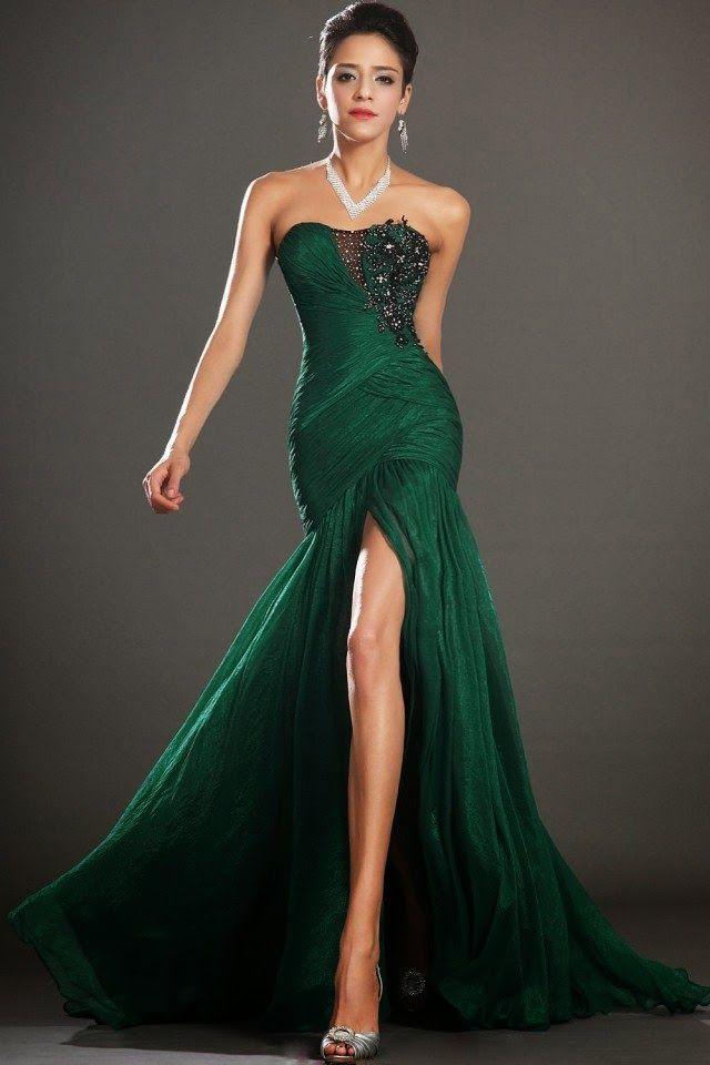 Hermosos vestidos de fiesta   Colección Gala