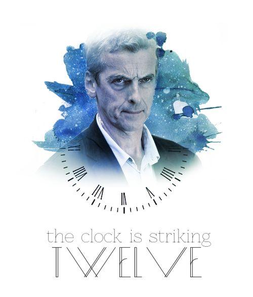 The clock is striking twelve...
