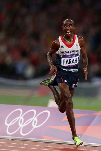 What a race! - Mo Farah won de 5 000 meter én de 10 000 meter op de Olympische Spelen in Londen (2012).