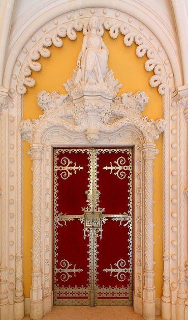 Regaleira Palace Door Detail ~ Sintra, Portugal
