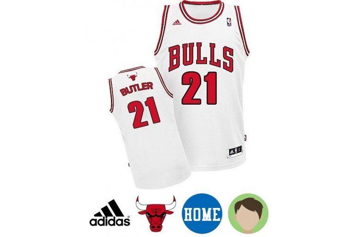 c30a3de11 ... Youth Jersey Chicago Bulls 21 Jimmy Butler Revolution 30 Swingman Black  Pinstripe Jersey NBA jersey Pinterest Chicago