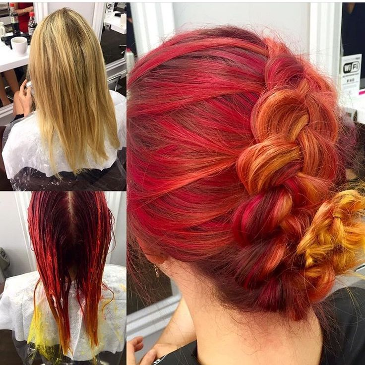 DO YOU DARE TO GO BOLD?! Paul Mitchell POP XG colour at its finest  Credit to Danielle @ Obsessions Salon, Ramsgate!