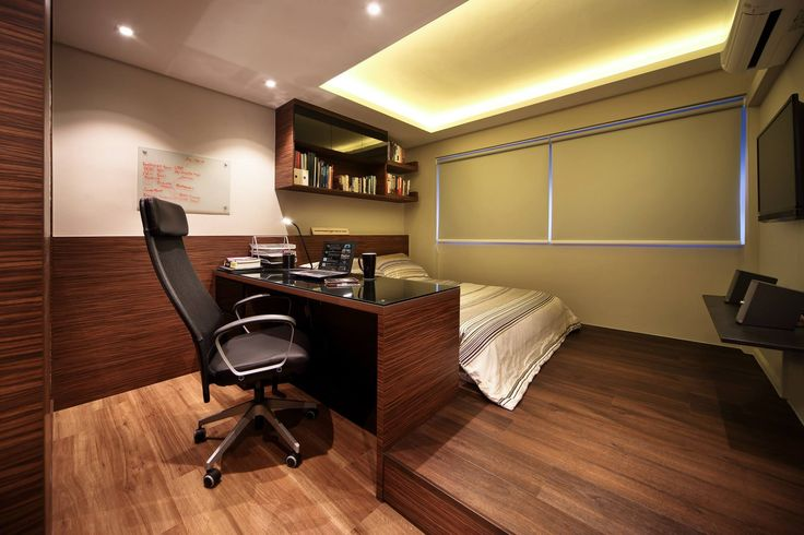Bedroom with study table
