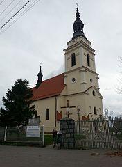 Mokrsko Kościół św. Stanisława