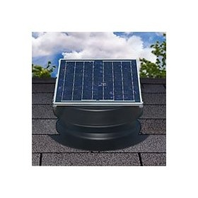 Black Friday 2014 Solar Attic Fan   Black   With Warranty   Florida Rated  From Natural Light Cyber Monday