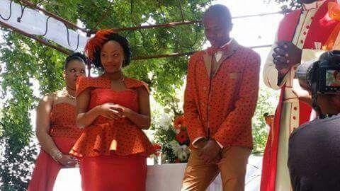 A Basotho traditional wedding