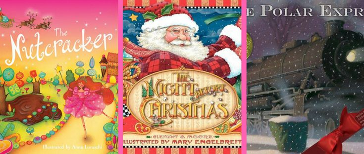 What are your children's favourite Christmas books? Here are some of our favourites!🎅 https://www.giraffe.ie/childrens-christmas-books/?utm_content=buffer00df4&utm_medium=social&utm_source=pinterest.com&utm_campaign=buffer #earlyliteracy #reading #books