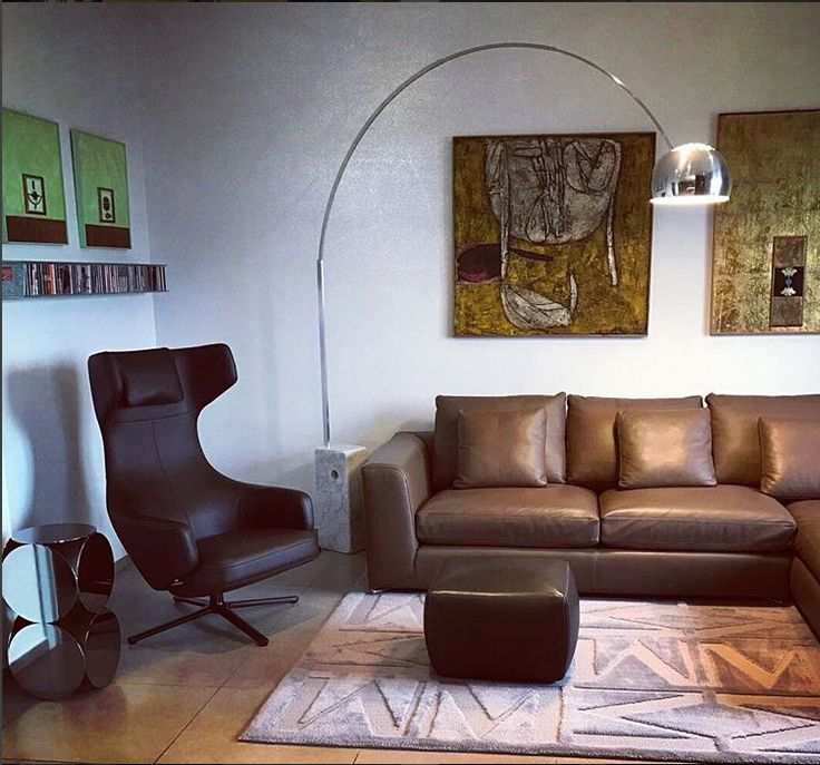 Arco Floor Lamp Replica By Manhattan Home Design.