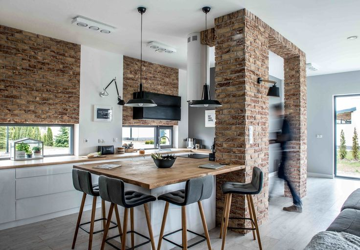 A gorgeous Nordic industrial home |  Hermosa casa estilo nórdico industrial - Casa Haus Decoracion