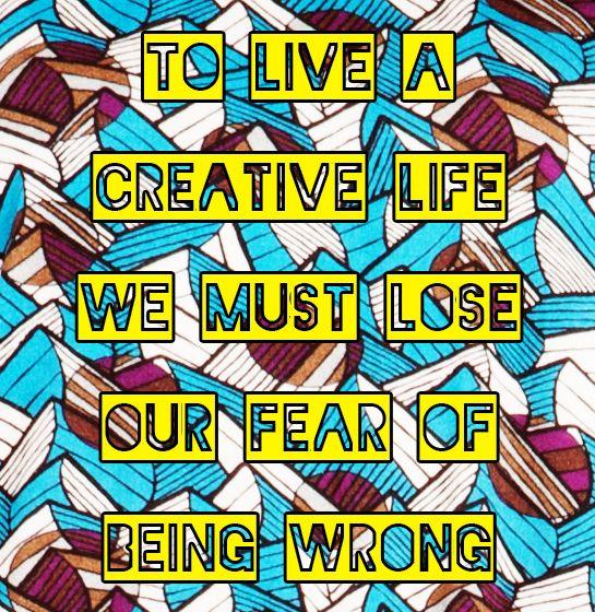 Live, create, experiment, wear!