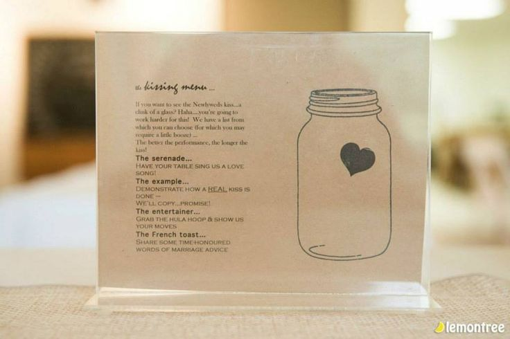 Signature drink for a rustic wedding.