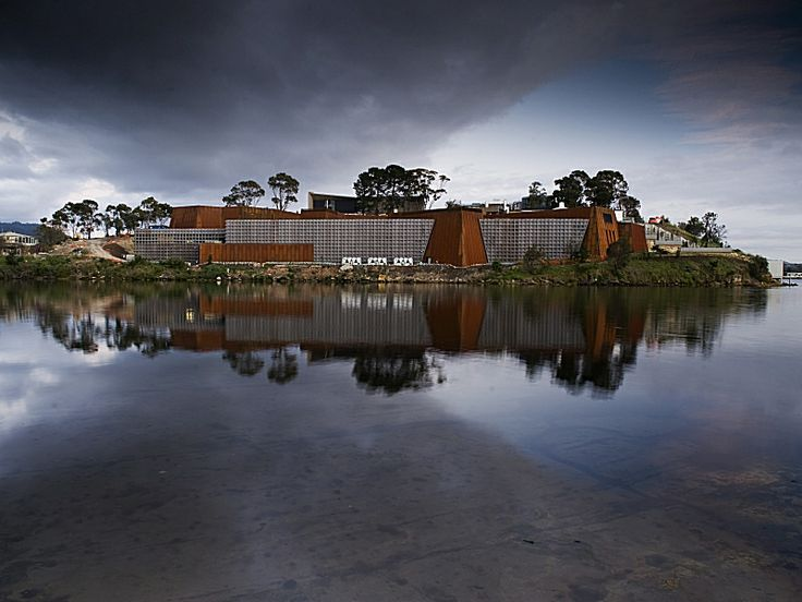 """Museum of Old and New Art (MONA), Hobart, Australia -- """"to shock, offend, inform and entertain"""""""