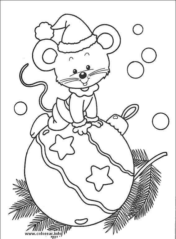 Dibujos-de-navidad-para-imprimir-2.gif (567×770)