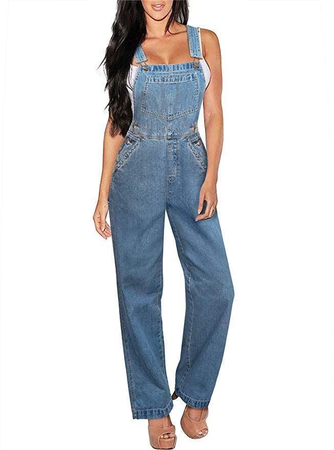 08bf826d540 Womens Denim Bib Overalls   Latest Denim Fashion Trends   Fall Fashion This  Year. Chic Fashion for Women  trendy  falloutfits  fall  denim  jeans   fashion ...