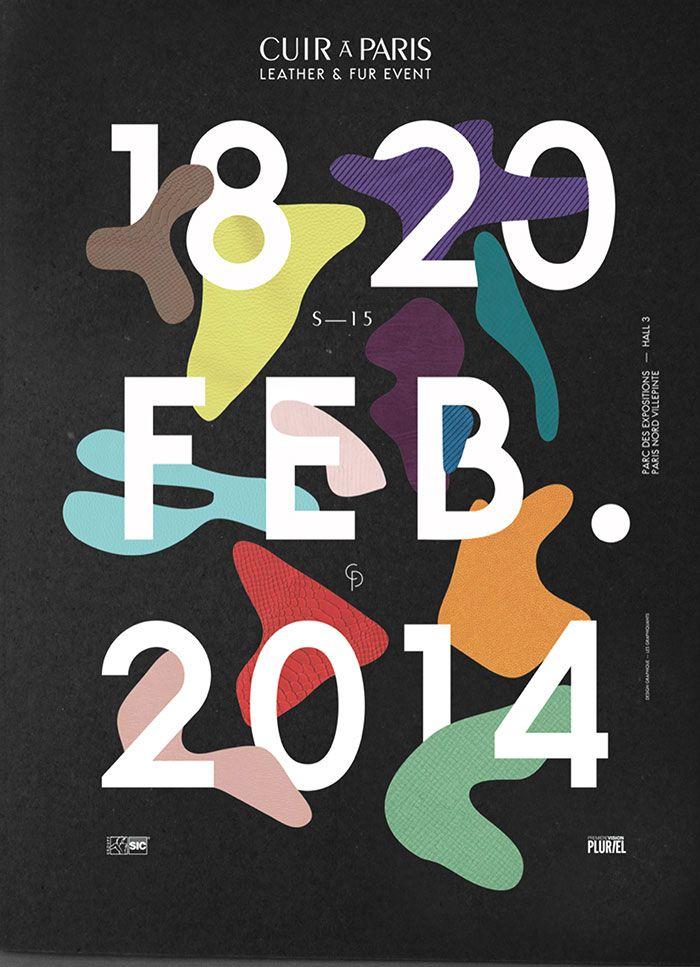 Affiche CUIR À PARIS S—15 © Les graphiquants 2013