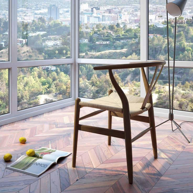 Considered One Of His Most Well Known Chairs, The Wegner Style CH24  Wishbone Chair