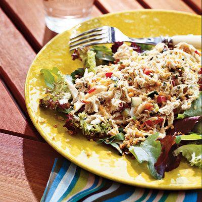 Maryland Crab Cake Salad
