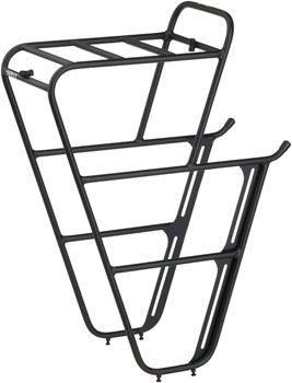 Surly CroMoly Front Rack 2.0: Black - Modern Bike