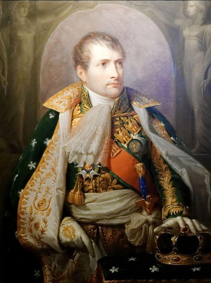 Napoléon se fait couronner roi d'Italie le 26 mai 1805 à Milan.