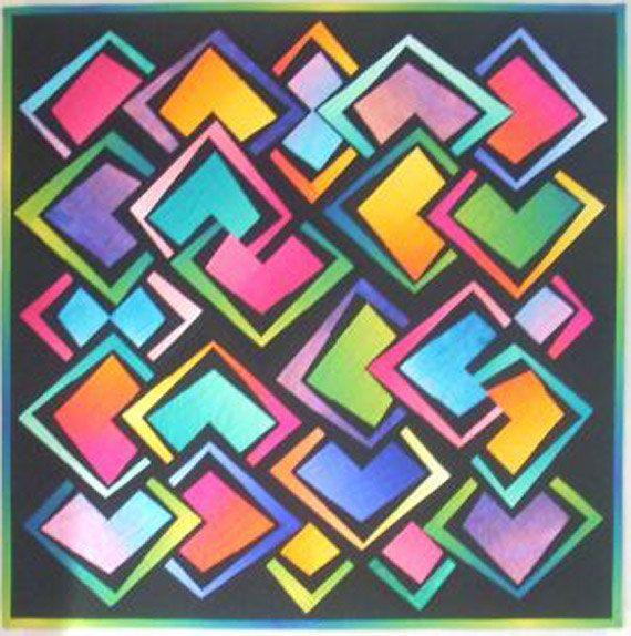 « Magie du diamant » couette motif !  Il sagit dun modèle à faire. Il nest pas un produit fini.  Les 12 blocs de 1/2″ sont si faciles à faire !  Les blocs sont définies sur le point et cherchent à se recouper.  Chaque bloc est coupé en quatre et ré-assemblé en lignes, il ny a aucune couture Y à coudre.  DIMENSION FINIE :  50 PO X 50 PO.  Cette liste est pour motif seulement. Aucun tissu ou les fournitures ne sont incluses.  Merci de votre visite