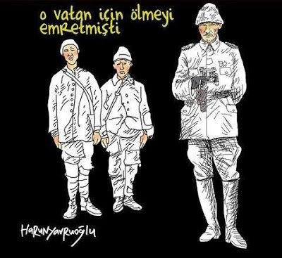 """CartoonColors: """"18 Mart Çanakkale Zaferi"""" Çizimleri"""