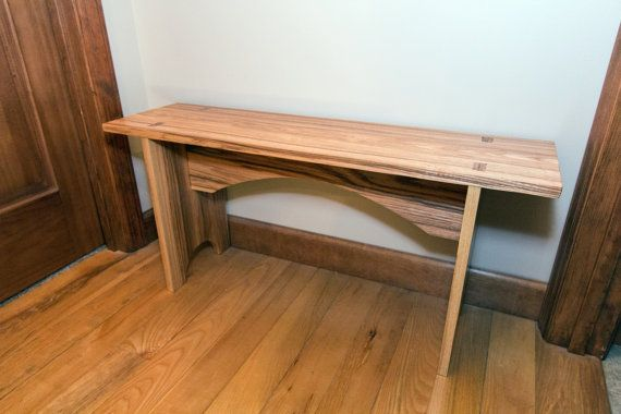 Shaker Arched Bench by GatewayCities on Etsy