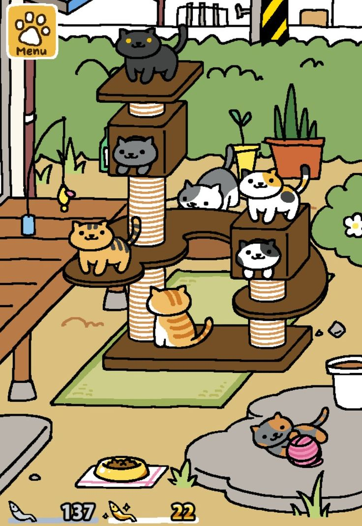 nekoatsumespeedrun Neko atsume, Buy a cat, Neko