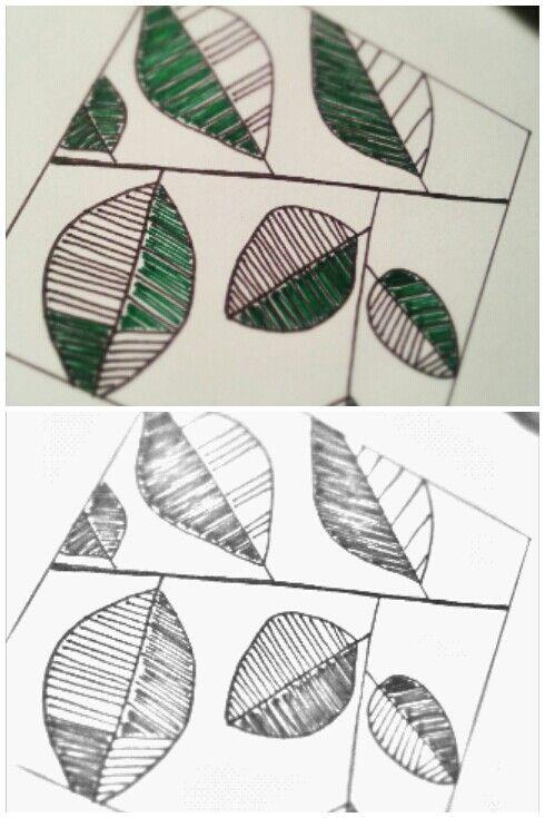 My first handmade patterns
