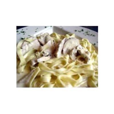 Homemade Chicken Fettuccine