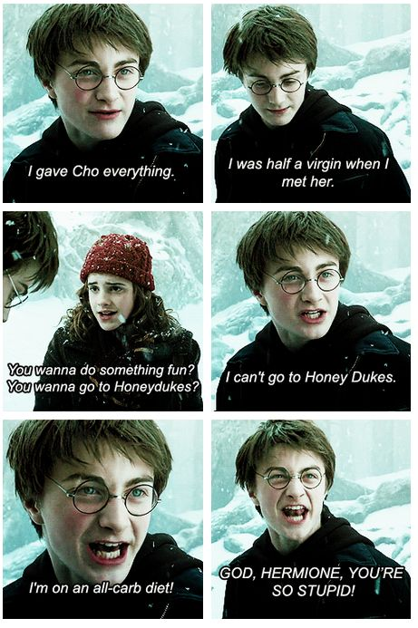 Harry Potter/Mean Girls BRILLIANT