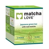 Matcha Love Green Tea Bags with Matcha