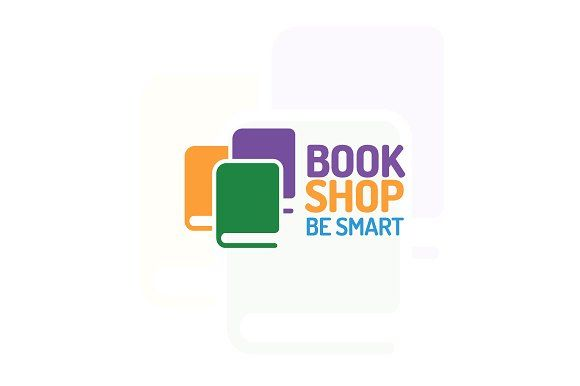 Book shop logo by MIRARTI on @creativemarket