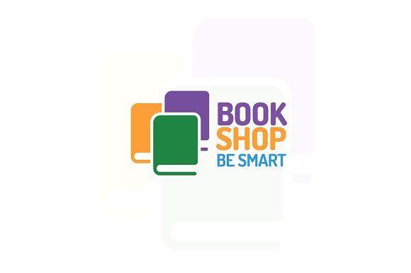 Book shop logo by MIRARTI on @creativemarket