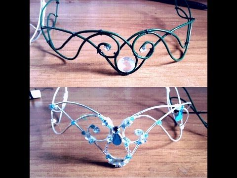ELFIC - FAIRY CROWN (diadem) DIY (TUTORIAL), My Crafts and DIY Projects