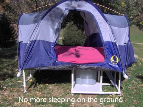 ▶ Bicycle Tent Camper 1 - YouTube