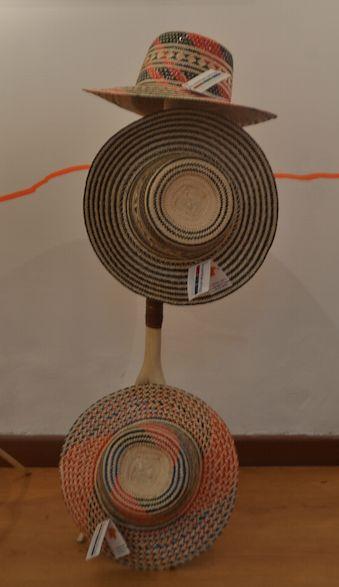Sombreros tradicionales Wayuu.( Guajira - Colombia)