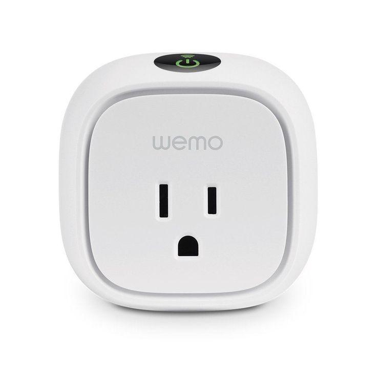 Wemo Insight Switch, Wi-Fi Smart Plug Certified Refurbished