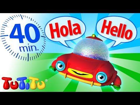 Aprendizaje TuTiTu   Inglés para bebés y niños   español a Inglés - YouTube